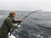 Dave Greenwood fighting 2nd fish (team edge)