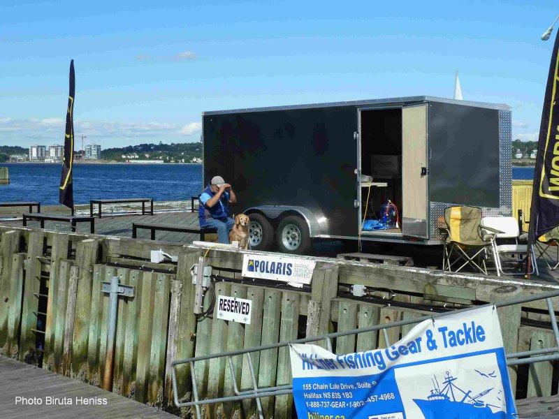 Bishops trailer setup 2
