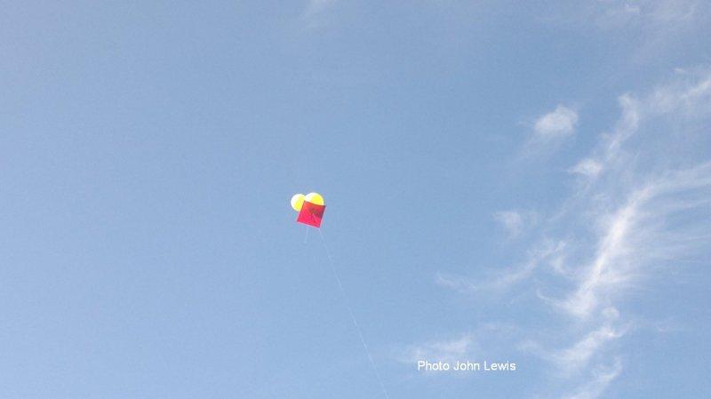 Gaffer Double Ballon Kite