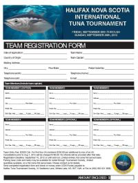 HITT Entry Form